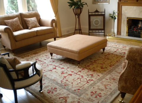 Ziegler and Kazak carpets